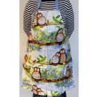 Buy Alex Clark Aprons Apron PVC Owls at Louis Potts
