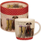 Buy Alex Clark Mugs Mug In Hatbox Best Dad at Louis Potts