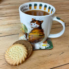 Buy Alex Clark Mugs Mug Cat's Whiskers at Louis Potts