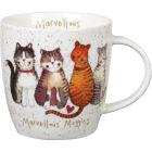 Buy Alex Clark Mugs Mug Tub Marvellous Moggies at Louis Potts