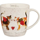 Buy Alex Clark Mugs Mug Tub Terrific Tortoiseshells at Louis Potts