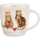 Buy Alex Clark Mugs Mug Tub Tremendous Tabbies at Louis Potts