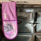 Buy Alex Clark Oven Gloves Double Oven Glove Misty Rabbit at Louis Potts