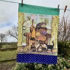 Buy Alex Clark Tea Towels Tea Towel Cat House at Louis Potts