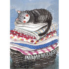 Buy Alex Clark Tea Towels Tea Towel Laundry Basket at Louis Potts