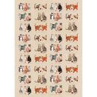 Buy Alex Clark Tea Towels Tea Towel Marvellous Moggies at Louis Potts
