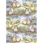 Buy Alex Clark Tea Towels Tea Towel Owl at Louis Potts