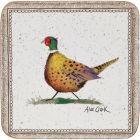 Buy Alex Clark Wildlife Coaster Set of 6 Wildlife Pheasant at Louis Potts