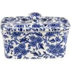 Buy Burleigh Blue Arden Rectangular Butter Dish at Louis Potts