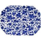 Buy Burleigh Blue Arden Rectangular Platter 25cm at Louis Potts