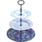 Buy Burleigh Blue Asiatic Pheasants  3-Tier Cake Stand Mixed Design at Louis Potts