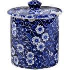 Buy Burleigh Blue Calico Covered Sugar Bowl at Louis Potts