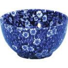 Buy Burleigh Blue Calico Open Sugar Bowl Large at Louis Potts