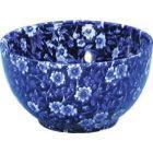 Buy Burleigh Blue Calico Open Sugar Bowl Large at Louis Potts