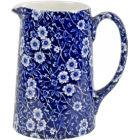 Buy Burleigh Blue Calico Tankard Jug Large at Louis Potts
