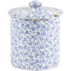 Buy Burleigh Blue Felicity  Covered Sugar Bowl at Louis Potts