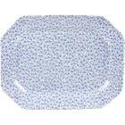 Buy Burleigh Blue Felicity  Rectangular Platter 25cm at Louis Potts