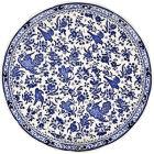 Buy Burleigh Blue Regal Peacock Cake Plate 28cm at Louis Potts