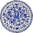 Buy Burleigh Blue Regal Peacock Lunch Plate 22cm at Louis Potts