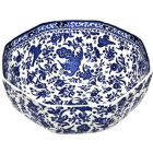 Buy Burleigh Blue Regal Peacock Octagonal Bowl Medium at Louis Potts