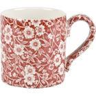 Buy Burleigh Red Calico Mug 0.3L at Louis Potts