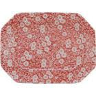 Buy Burleigh Red Calico Rectangular Platter 34cm at Louis Potts