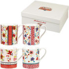 Buy Caravan Trail Caravan Trail Mugs Mug Caravan Trail Beach Break Set of 4 at Louis Potts
