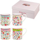 Buy Caravan Trail Caravan Trail Mugs Mug Caravan Trail Riviera Set of 4 at Louis Potts