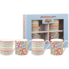 Buy Caravan Trail Caravan Trail Mugs Mug Harbour Sands Set of 4 at Louis Potts