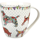 Buy Caravan Trail Caravan Trail Mugs Mug Large Festival Dogs at Louis Potts