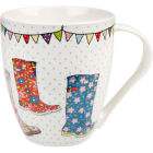 Buy Caravan Trail Caravan Trail Mugs Mug Large Festival Wellies at Louis Potts