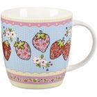 Caravan Trail Caravan Trail Mugs Mug Tub Dorset Sixpenny Strawberry