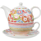 Buy Caravan Trail Homeware Tea For One Caravan Trail Harbour Sands at Louis Potts