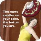 Buy Cath Tate Photocaptions Coasters Candles On Your Cake Coaster at Louis Potts