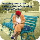 Buy Cath Tate Photocaptions Coasters Crossing Things Off Coaster at Louis Potts