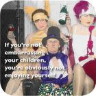 Buy Cath Tate Photocaptions Coasters Embarrassing Your Children Coaster at Louis Potts