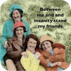 Buy Cath Tate Photocaptions Coasters Me and Insanity Coaster at Louis Potts