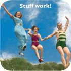 Buy Cath Tate Photocaptions Coasters Stuff Work Coaster at Louis Potts
