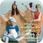 Buy Cath Tate Photocaptions Coasters We Are All Mad Coaster at Louis Potts