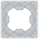 Buy Catherine Lansfield Catherine Lansfield Coaster Set of 4 Glamour Lace at Louis Potts