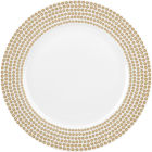 Buy Catherine Lansfield Catherine Lansfield Dinner Plate 27cm Glamour Sequin Gold at Louis Potts