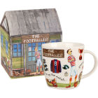 Buy Churchill At Your Leisure Mug Footballer at Louis Potts