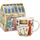 Buy Churchill At Your Leisure Mug Lady Gardener at Louis Potts