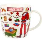 Buy Churchill At Your Leisure Mug Merry Christmas Santa at Louis Potts