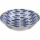 Buy Churchill Aura Salad Bowl 24cm Fishie All Over at Louis Potts