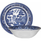 Buy Churchill Blue Willow Cereal Bowl 15.5cm at Louis Potts