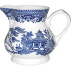 Buy Churchill Blue Willow Cream Jug at Louis Potts