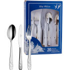 Buy Churchill Blue Willow Cutlery Set 20-Piece at Louis Potts