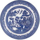 Buy Churchill Blue Willow Dinner Plate 26cm at Louis Potts