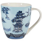 Buy Churchill Blue Willow Large Mug Willow Blue at Louis Potts